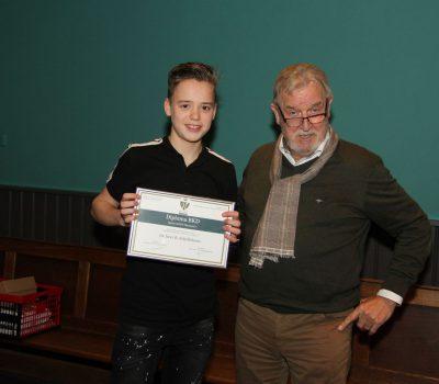 Bren Schellekens Youngest Graduate Ever @KNPV